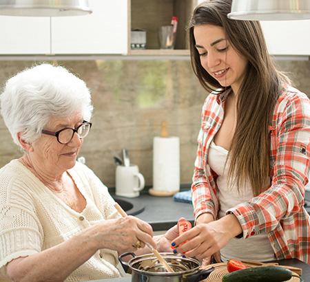 Aide à la préparation des repas Roubaix